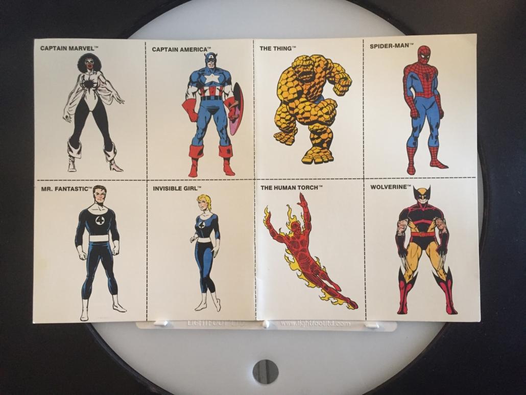 Marvel Super Heroes TSR